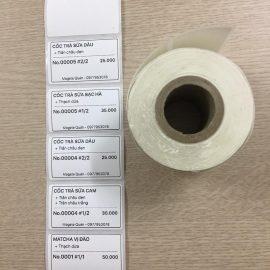 giấy in tem trà sữa - 50x30 longhaidigi.com
