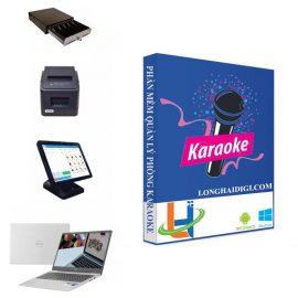 combo trọn gói phần mềm quản lý phòng karaoke - longhaidigi.com